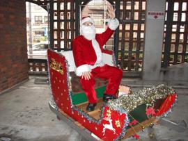 眼鏡橋パーキングセンター クリスマス展示物