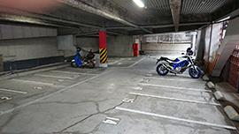 眼鏡橋パーキングセンター 二輪車専用駐車場